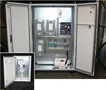 TS 8 Modular Enclosures support South Coast Control custom solutions.